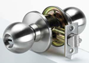 Door knob / lever set - Entrance 2 3/4' UL-MULTILOCK