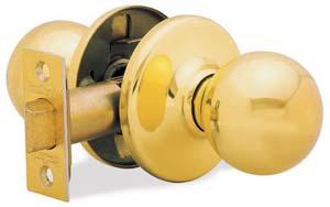 Door knob / lever set - 200P Polo Bedroom-Kwikset