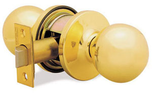 Door knob / lever set - 720CA Circa Bedroom-KWIKSET