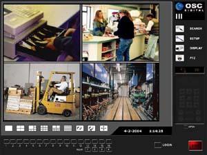 CCTV - OSC 9600 Series 8 Channel