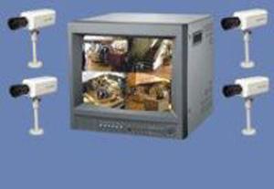 CCTV - Pvs-2/4-provideo system